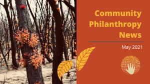 May Community Philanthropy News